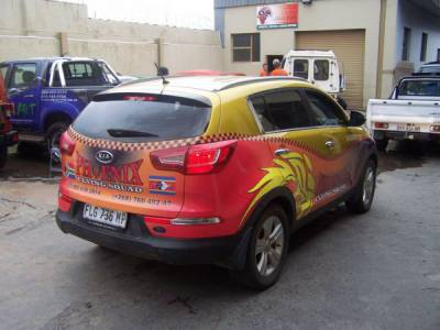 Vehicle Branding Nelspruit